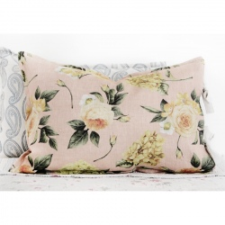 Pillow - Yellow Flowers on Pink